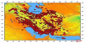 تحلیل زلزله های رخ داده در شهر یزد